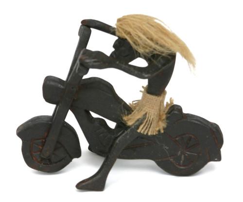 Crazy Tiki Dude on Harley - Bad To The Bone | #lge24018