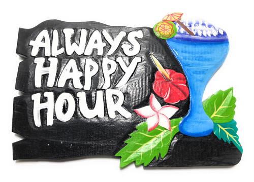 "Aloha Sign with Hibiscus Flowers 10/"" Hawaiian Decor#smd2503728"