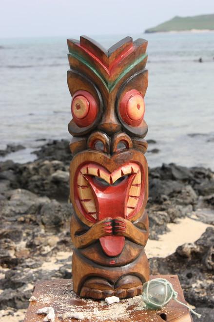 "Big Kahuna Tiki Mask 20"" - Hawaiian Tiki Bar Decor | #ksa902450"