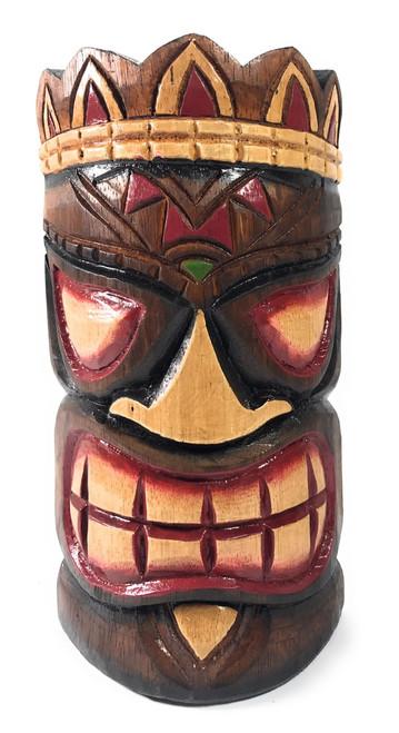 "Smiley Tiki Mask 8"" - Ohana Polynesian Art | #ksa902520"