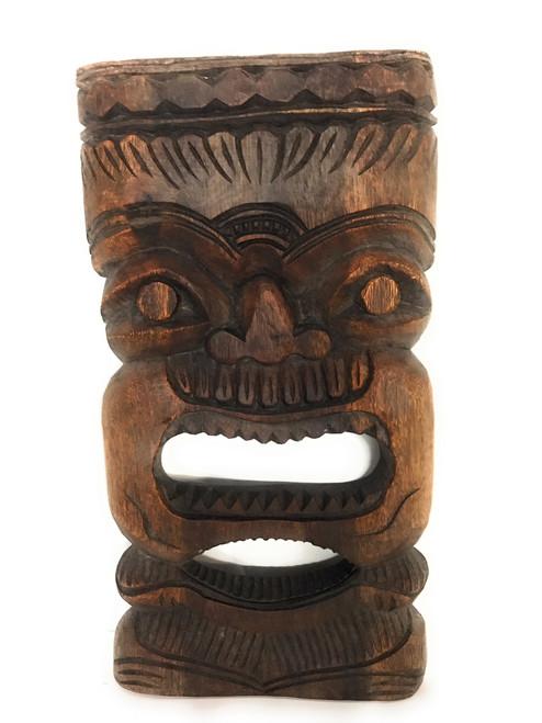 "Money Tiki Mask 18"" - Monkeypod - Wall Hanging | #rti200545s"