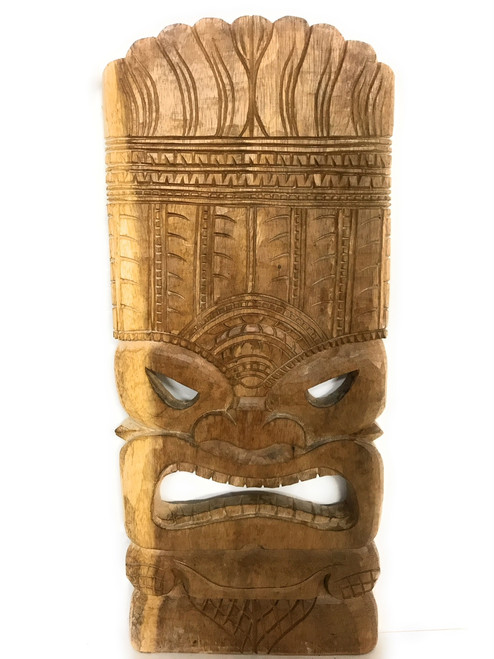 "Tiki Mask Ocean Tiki God 20"" - Hand Carved | #yda1100650"