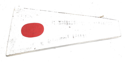 "1 Nautical Numerical Flag 12"" Wood Panel - Coastal Decor   #Skn160211"