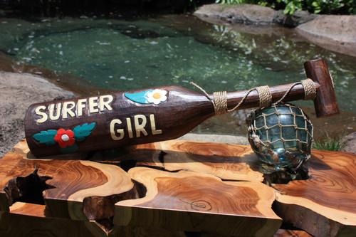 "Surfer Girl Oar 24"" - Decorative Surfing Decor   #skn1600360"
