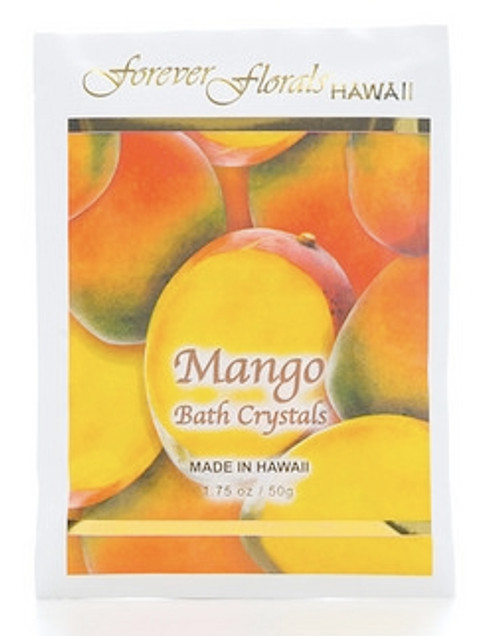 MANGO BATH CRYSTALS - ISLAND BATH MINERAL SPA