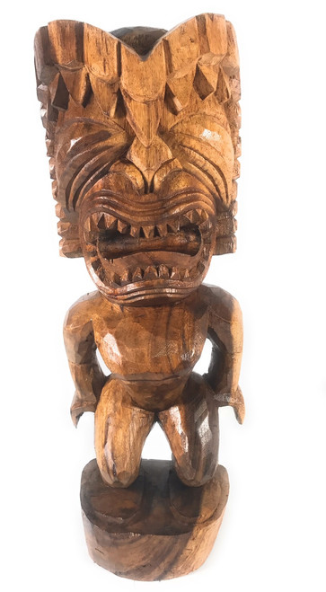 "Ku Tiki 24"" - Traditional Hawaii Museum Replica 