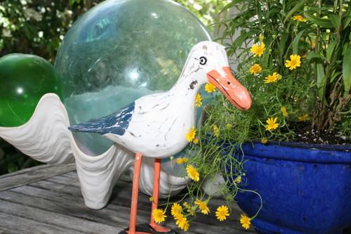 "Seagull Bird 14"" - Rustic Coastal Decoration   #ort1704534b"