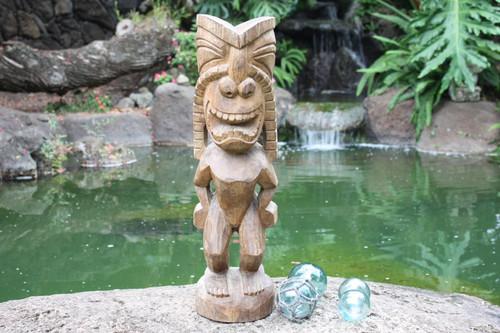 "Big Island Ku Tiki 24"" - Traditional Hawaii Museum Replica | #yda1101560smpl2"