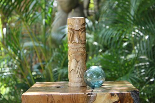"Kailua Tiki Totem 8"" Natural - Hawaiian Tiki Bar Decor | #yda1100920"