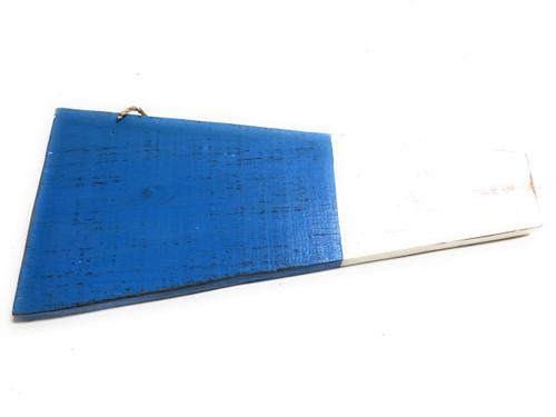 "2nd Nautical Numerical Flag 12"" Wood Plaque - Coastal Decor | #skn160222nd"