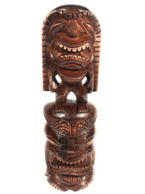 "Tiki Statue Lono & Kanaloa 24"" - Love & Prosperity | #skn1600960"