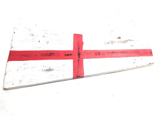 "8 Nautical Numerical Flag 12"" Wood Plaque - Coastal Decor   #skn160228"