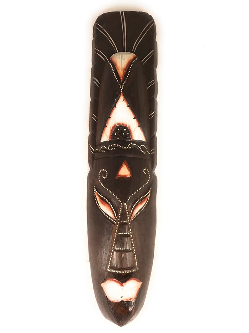"Tribal Chief Tiki Mask 12"" - Primitive Art | #wib370650c"