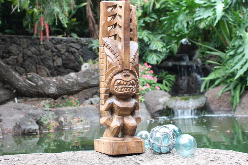 "Tiki Akua Kai 24"" - Hawaii Museum Replica - Ocean Tiki | #yda1101760"