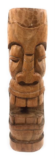 """Makaha Tiki Totem 12"""" Natural - Tropical Decor   #yda1101130"""