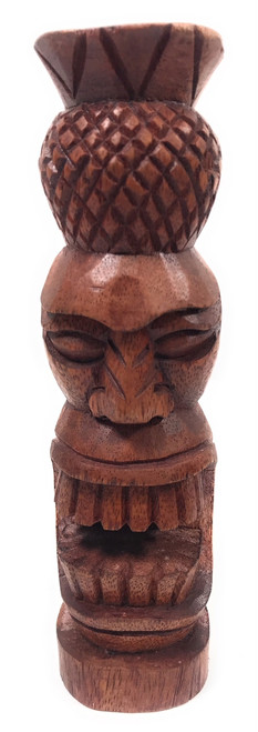 "Pineapple Tiki Totem 8"" Stained - Hospitality 