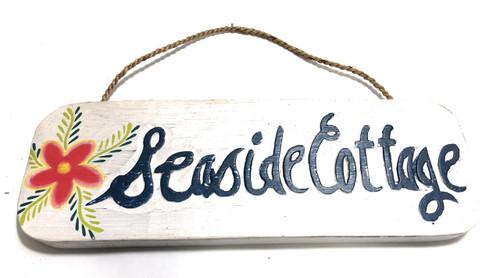 "Seaside Cottage Sign 14"" - Beach Decor | #ort1707335"