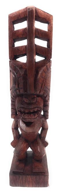 "Tiki Akua Kai 8"" - Stained - Hawaii Museum Replica | #YDA1101720b"
