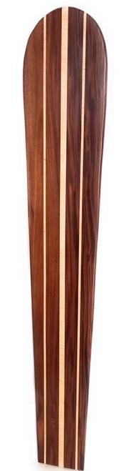 """Koa Surfboard Triple Stringer 72"""" X 12"""" Hawaiian Vintage   #koalb21b"""