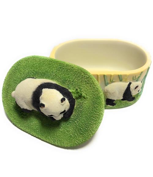 "Panda Keepsake Jewelry Box 4"" | #ih12760"