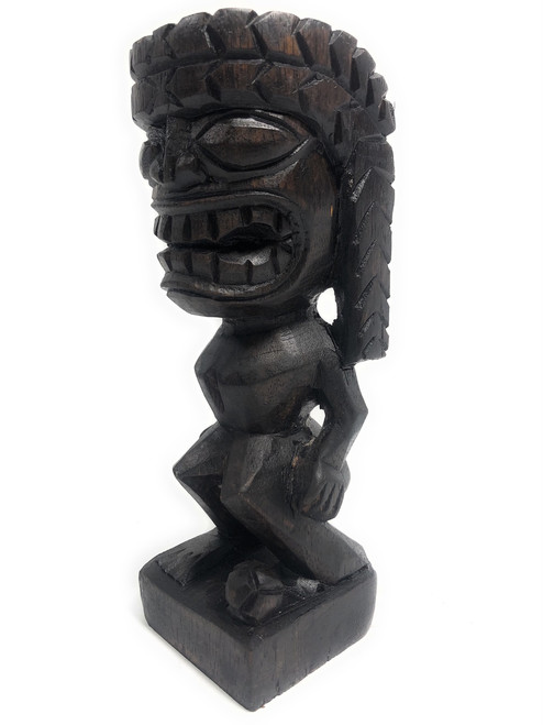 "Tiki Soccer Trophy 8"" - Kanaloa Hand Carved Sporting Event 