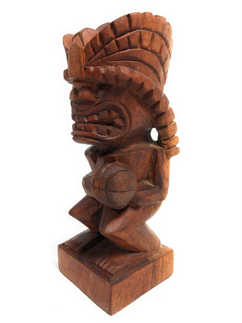 "Tiki Basketball Trophy 8"" - Kanaloa Hand Carved Sporting Event | #blatb2018"