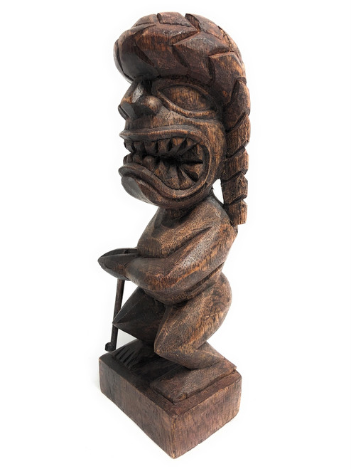 "Tiki Hockey Trophy 8"" - God Of King Kamehameha Hand Carved Sporting Event | #blath2010"