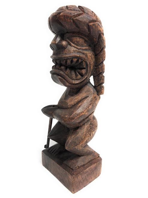 "Tiki Hockey Trophy 8"" - God Of King Kamehameha Hand Carved Sporting Event   #blath2010"