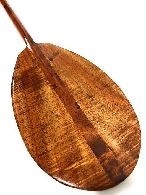 "Exquisite AAA Grade Koa Paddle 50"" w/ T-Handle - Made in Hawaii 