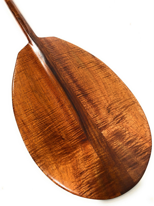 "Exquisite AAA Grade Koa Paddle 50"" w/ T-Handle - Made in Hawaii | #koa6131"