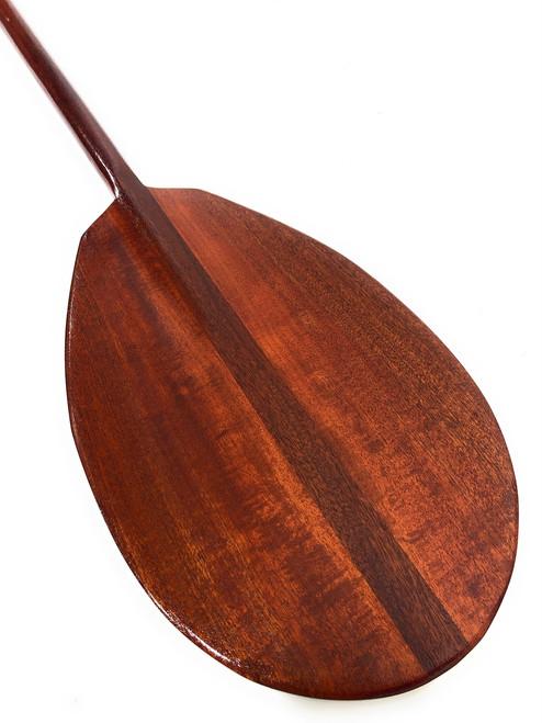 "Decorative Mahogany Paddle 50"" T-Handle - Made in Hawaii | #koa3835"