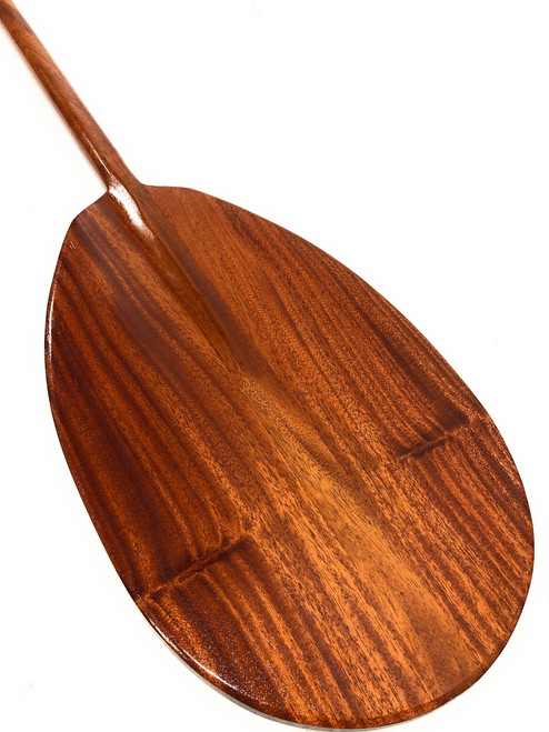 "Curly Outrigger Koa Paddles 60"" Steersman Design | #koaetsyb2"