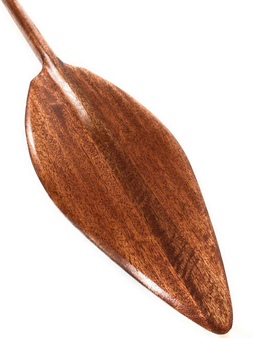 "Alii Blonde Koa Paddle 49"" Straight Shaft - Made in Hawaii 