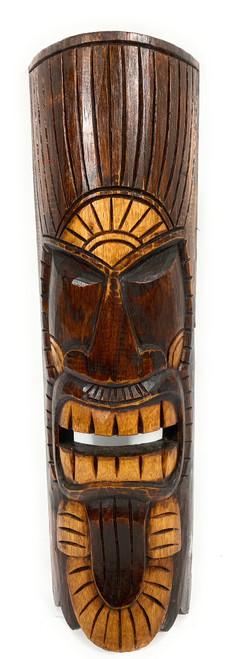 """Chief Tiki Mask 20"""" - Kuka Tiki hand Carved   #bag1506650"""