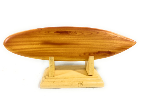 """Classic Surfboard w/ Horizontal Stand 6"""" - Trophy   #lea09h"""