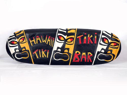 """Pop Culture Tiki Bar Sign 24"""" - Tiki Bar Decor   #dpt5077"""