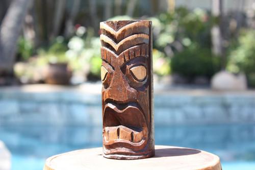 "Big Kahuna Tiki Totem 6"" - Hand Carved | #dpt5330a"