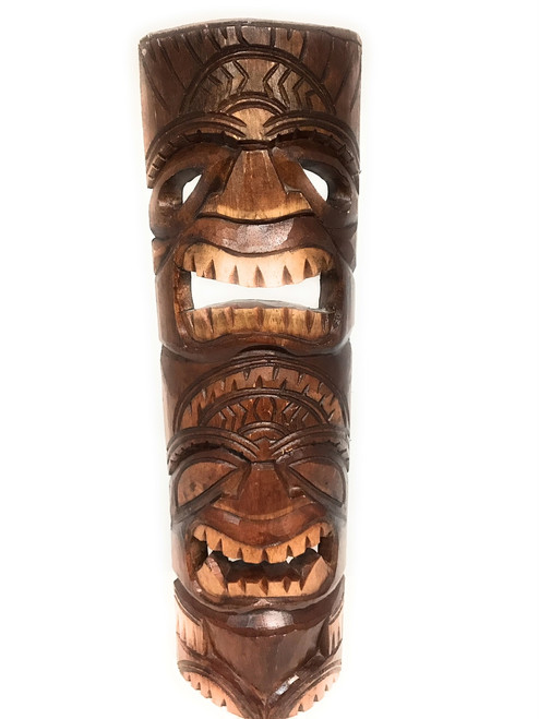 Beautiful Strength & Abundance Tiki Mask 24"