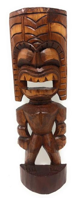 "Big Kahuna Tiki 16"" - Golden Oak Finish - Tiki Trophies"