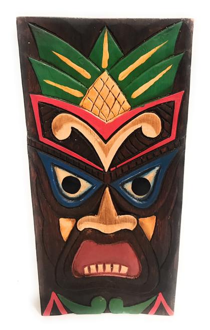 "Hospitality Tiki Shield Mask 12"" Plaque - Pop Art Culture | #dpt512530"