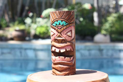 "Fertility Tiki Totem 6"" - Hand Carved | #dpt5330h"