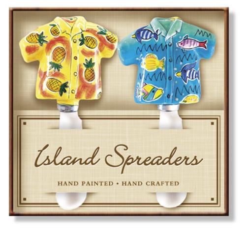 Aloha Shirt Island Butter Spreader - Island Heritage