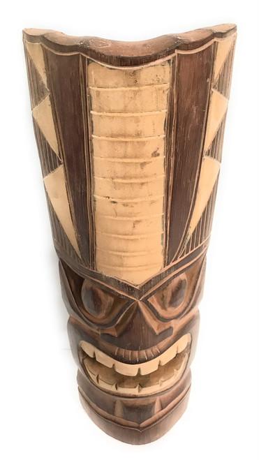 "Earth Tone Tiki Mask 20"" - Hawaii Decor   #dpt514150"