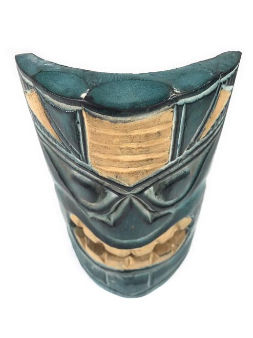 "Ocean & Fishing Tiki Mask 8"" - Hand Carved | #dpt514220"