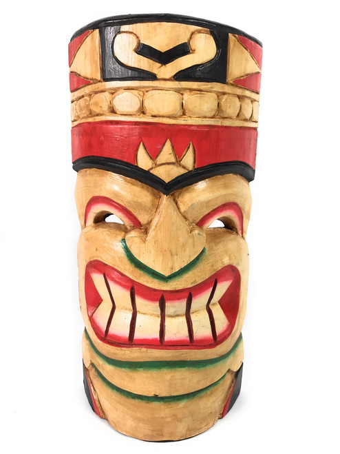 "Polynesian Tiki Mask 12"" - Hawaiian Decor 
