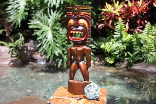 "Big Kahuna Tiki 20"" - Hand Painted Finish - Tiki Trophies | #bag15027f50"