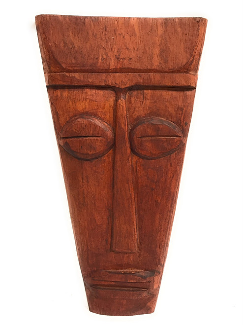 "Papua Tiki Mask 16"" - Tribal Primitive Tiki Art 