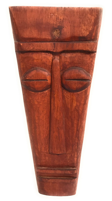 "Papua Tiki Mask 20"" - Tribal Pop Art Modern Tiki 