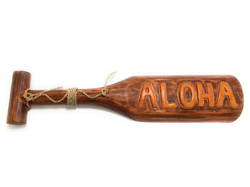 "Aloha Paddle 24"" - Decorative Wall Hanging Oar 