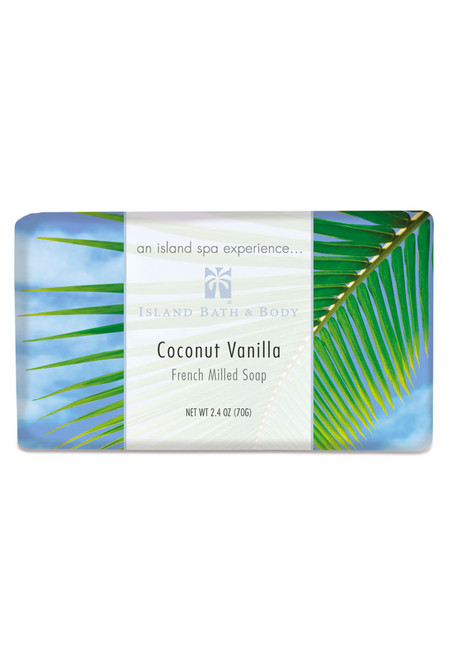 French-Milled Soap 2.4 oz Coconut Vanilla | Exotic Soap